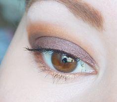 Zoeva Cocoa Blend palette: Look #1