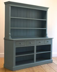 Open Farmhouse Hutch - Coach Barn Wish it had glass doors Country Furniture, Repurposed Furniture, Home Decor Furniture, Shabby Chic Furniture, Furniture Makeover, Painted Furniture, Diy Home Decor, Furniture Design, Painted Hutch