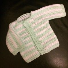 Stripy Baby Cardigan Crochet Pattern I'm currently at that age where me and my partners friends keep announcing they are expecting children. During this exciting time, I love creating gifts a…