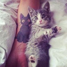#Tattoo #Ink #cats