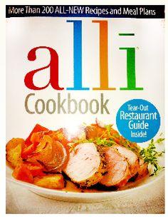FREE Alli Cookbook plus FREE Shipping  http://www.thefreebiesource.com/?p=143741