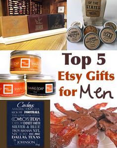 Great gift ideas from Etsy for MEN!