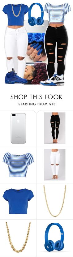 """""""I Won't-H.E.R"""" by trippybabii ❤ liked on Polyvore featuring Topshop, River Island, Bianca Pratt and Beats by Dr. Dre"""