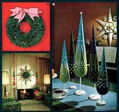 Retro Christmas decor you can make (1964)