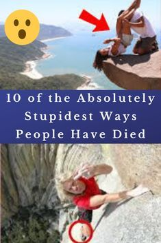 10 of the Absolutely Stupidest Ways People Have Died White People, Family Goals, Earn Money Online, Awkward, Stupid, Weird, Hilarious, Facts, Memories