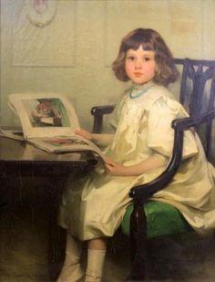 pintura de Samuel Henry William Llewellyn (1858 – 1941)