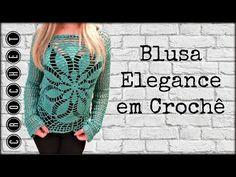 BLUSA ELEGANCE /DIANE GONÇALVES - YouTube