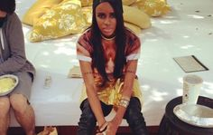 Contemplative Angel Haze... Caption This