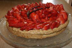 Tarte aux fraises et à la crème pâtissière - 1 amour de cuisine algerienne chez soulef