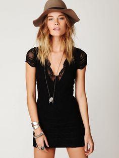 Nightcap Thira Cap Sleeve Dress. http://fashionlovestruck.com/gallery/free-people/