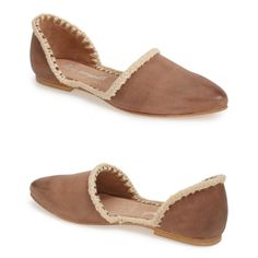 Free People Leather D'Orsay Flat w/Crotchet Trim These are super cute Free People bohemian leather flats! They have a nice little crotchet trim detail and a little distressed look as well! These are super comfortable and look so great with jeans or dresses! These are in size 38 which translates to 7.5/8! They are brand new in box, never been worn! I adore these and am only selling to save up! Gorgeous shoe!! Free People Shoes Flats & Loafers