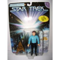 "Star Trek ""Dr. Mccoy"" the Original Series(1997) by Playmates. $9.95. This is a very limited Chase figure from this series. Long out of production and made in short supply. Features Dr. McCoy in the episode""Journey to Babel"""