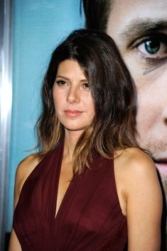 Marisa Tomei's Choppy Ombre Hairstyle.