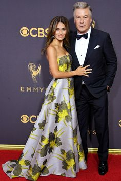 See All the Stars on the 2017 Emmys Red Carpet - Alec Baldwin from InStyle.com