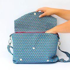 Patron de sac cartable - facile à coudre - petitpatron.com