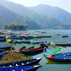 Phewa Tal / Fewa Lake à 포카라, Kaski District