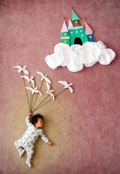 creative mom turns her baby's nap time into dream adventures.