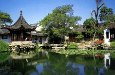 Garden of the Master of the Nets in Suzhou - China culture 1140 AD Suzhou Suzhou, Beautiful Places To Travel, Great Places, Beijing, Famous Gardens, China Travel, Botanical Gardens, Garden Landscaping, Paris Skyline