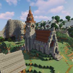 Easy Medieval Easy Minecraft Church