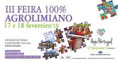 III Feira 100% Agrolimiano | 2018 | Pavilhão de Feiras e Exposições | Ponte de Lima