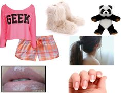 """pjs"" by lauren-napier ❤ liked on Polyvore"
