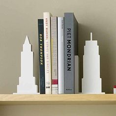 Design Ideas Skyline Bookends White Set of 2 * You can get additional details at the image link.