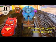 Monsters Inc Sulley Fun Action for Children with Nursery Rhymes 1080p HD