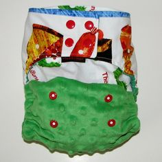 Hungry hungry caterpillar diaper!