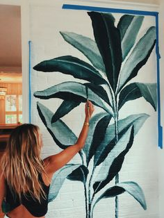Wall Murals, Wall Art, Roomspiration, Elementary Art, Floral Watercolor, Colored Pencils, Cricket, Painting & Drawing, Pens