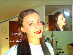 Twisted hairstlyle | in two minutes