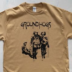Old Gold Hogs #groundhogs #tshirts