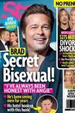 Brad Pitt es bisexual y paga para tener citas con hombres, según «Star»