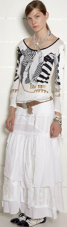 Elisa Cavaletti - S/S 2016 Boho Chic, Bohemian, Elisa Cavaletti, Dressed To The Nines, Hipster Outfits, Blushes, Chi Chi, Skirt Outfits, Spring Fashion
