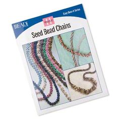 """Seed Bead Chains"" Bead® Projects, Easy-Does-It series. #easyprojects"