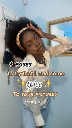 Black Girl Instagram, Instagram Pose, Ideas For Instagram Photos, Insta Photo Ideas, Best Photo Poses, Picture Poses, Cute Poses For Pictures, Model Poses Photography, Selfie Poses