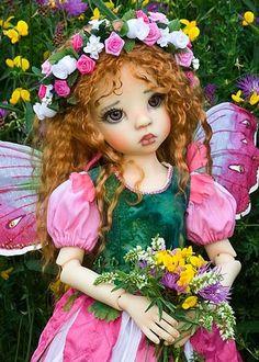 Sweet Pea Flower Fairy