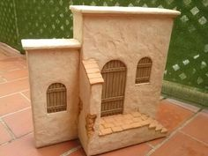 Foro de Belenismo - Anuncios comerciales - particulares -> Complementos de belén en venta Kids Castle, Architectural Columns, African House, Christmas Nativity Scene, Miniature Houses, Finding A House, Book Nooks, Miniture Things, Fairy Houses
