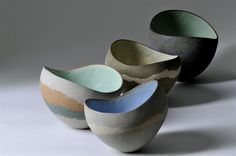 I want someone to go to England and pick up one of these for me. So beautiful.  Kerry Hastings Ceramics - Sculptural Vessels