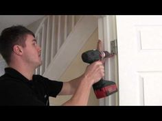 How to re align an interior door - Has a door in your home come a bit loose? Or not closing properly?  Well our engineer shows you how to re-align an internal door in your home in these easy steps.  If you're a Bromford customer and you have tried these steps and you still have fault or you're unsure, then report a repair by calling 0330 1234 034.