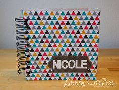 Personalized Notebook 6x6 Personalized Notebook, Office Supplies, Books, Crafts, Livros, Book, Livres, Crafting, Handmade Crafts