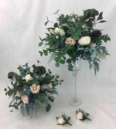 Rose Wedding Bouquet, Floral Wreath, Peach, Wreaths, Table Decorations, Bridal, Home Decor, Homemade Home Decor, Flower Crowns