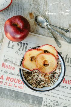 Apple Quinoa Porridge