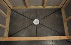 "Pre-Pitch Standard Shower Installation Kit 1/8"" to 7/8""X36"" - Part #: PPK/STD-201, Black - Construction Marking Tools - Amazon.com"