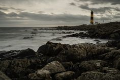 St John's Point Lighthouse at St John's Point, County Down, Northern Ireland (David Cleland, photographer)