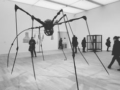 One of Louise Bourgeois' spiders at Tate Modern. The first one I saw was in Ottawa around 2009. She passed away in 2010 at nearly 100 years old. Much of her famous work was produced after age 70 which is inspiring in itself. It's never too late to bloom. #London