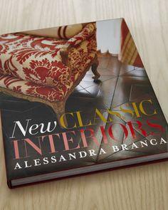 """New Classic Interiors"" Book at Horchow."