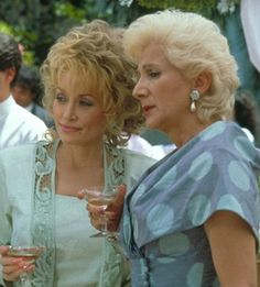 """""""You know I'd rather walk on my lips than to critisize anyone, but Janice Vanmeter.. I bet you Money she paid 500 dollars for that dress and don't even bother to wear a girdle."""" """"looks like two pigs fightin under a blanket"""" -Steel Magnolias (one of the best movie ever made)"""