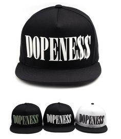 8641a23848c Rubber DOPENESS COCANE snapback hat Hiphop baseball cap street fashion   PREMIER  snapback Snapback Hats