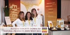 The Official BeeAlive eBUZZ! Blog: BeeAlive Heads to ExpoWest 2013