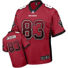 Nike Tampa Bay Buccaneers Jersey 83 Vincent Jackson Red With MG Patch Elite  Drift Fashion Jerseys 82374769d